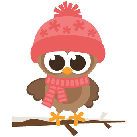 Winter Girl Owl