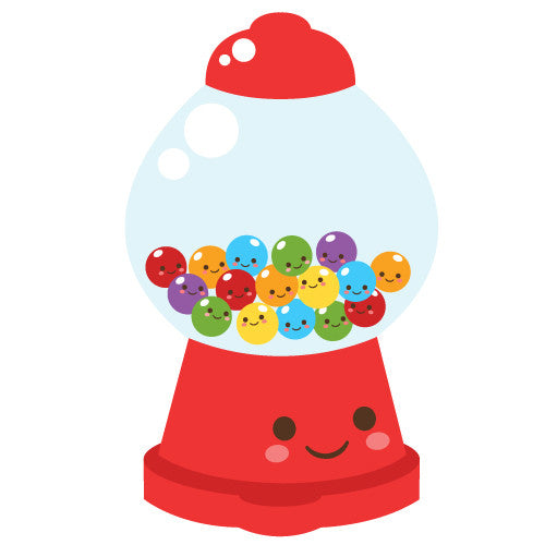 Happy Gumball Machine