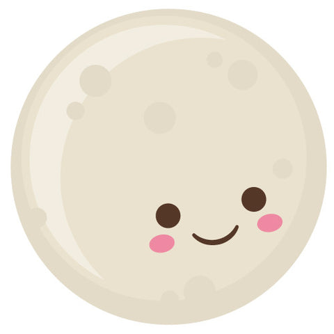 Cute Kawaii Moon