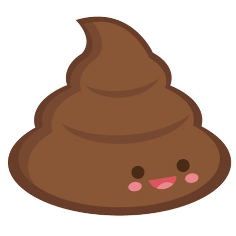 Cute Kawaii Poo Emoji