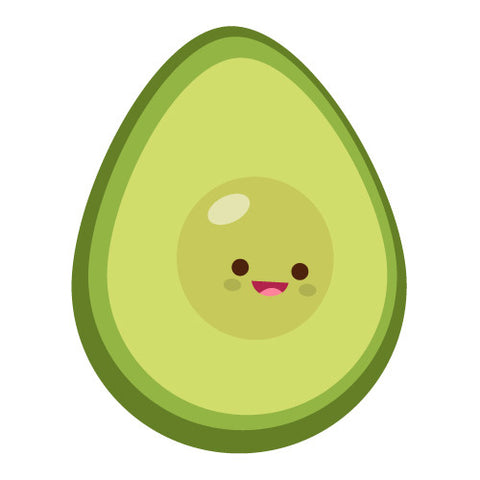 Cute Kawaii Avacado