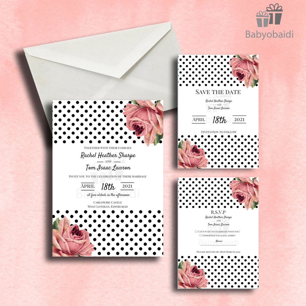 Wedding Invitations: Featured collection No.12