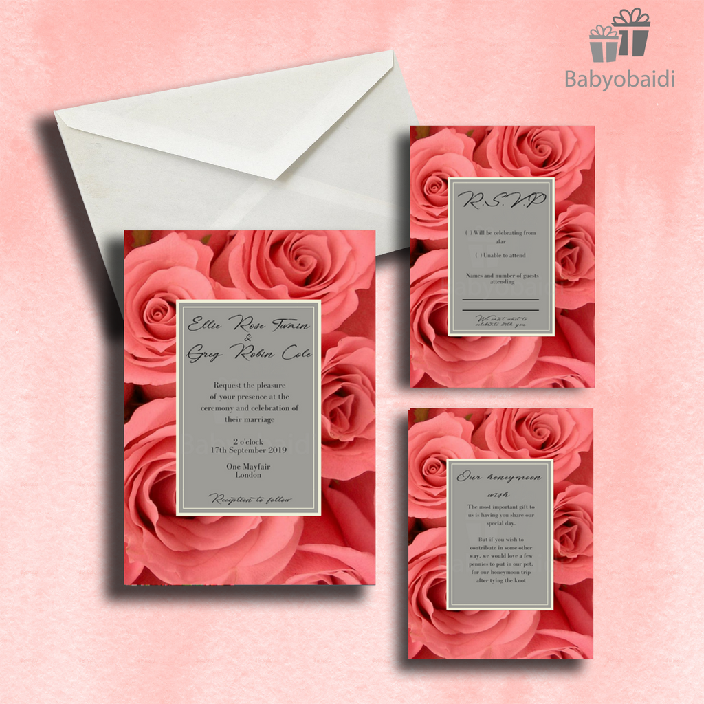Wedding Invitations: Featured collection No.6