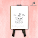 Guestbook Signing Canvas: Simple