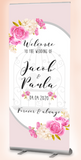 Wedding welcome banner : ANY Design - Easy order