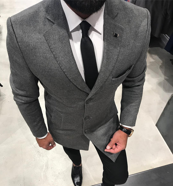 Grey Coat - Gentlemen's Crate