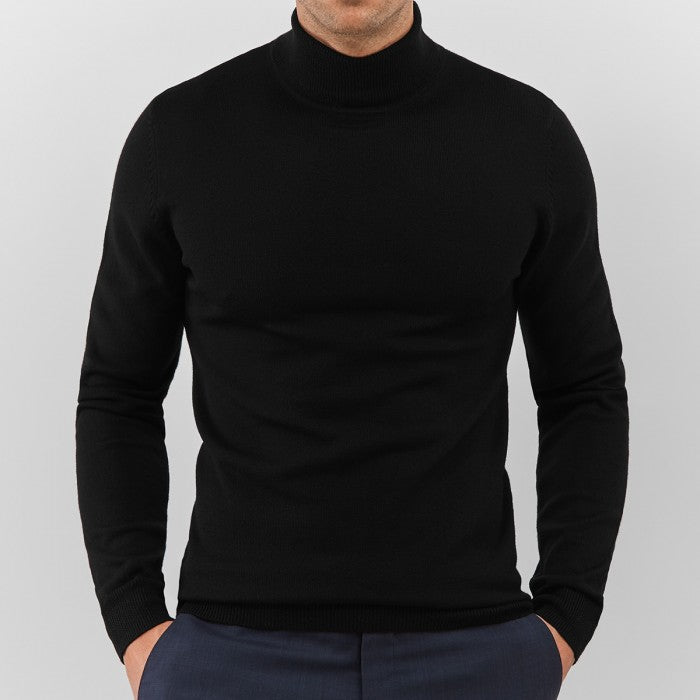 Black Turtleneck - Gentlemen's Crate