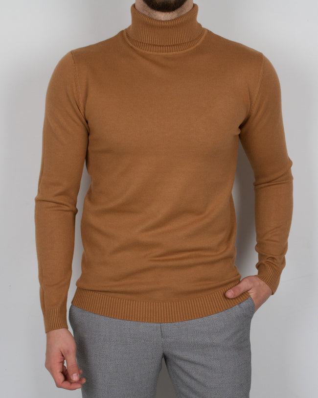 Camel Turtleneck - Gentlemen's Crate