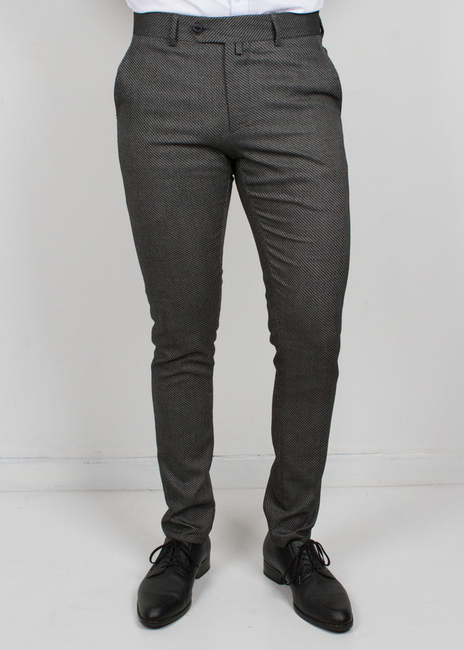 Dark Charcoal Trousers - Gentlemen's Crate