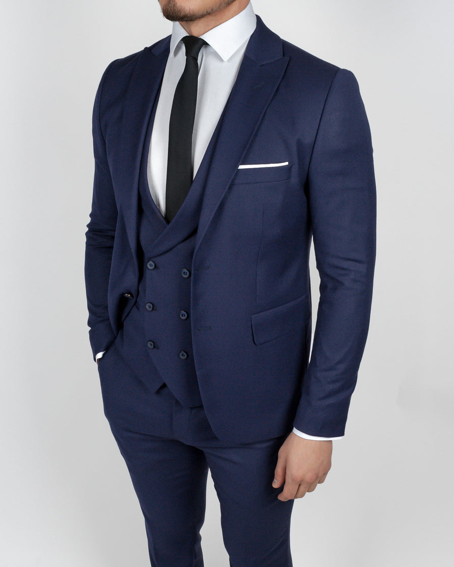 Navy 3 Piece Suit