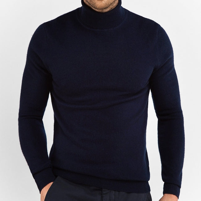 Navy Turtleneck - Gentlemen's Crate