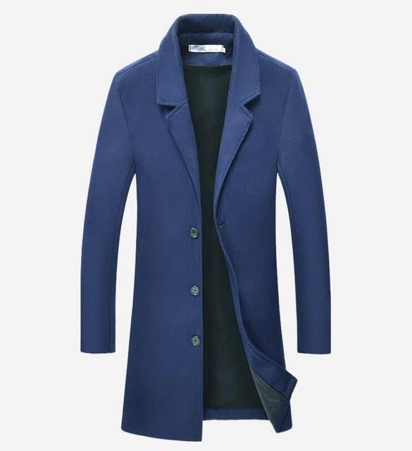 Navy Coat - Gentlemen's Crate