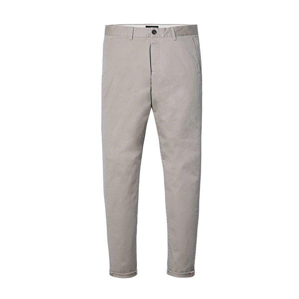 Light Grey Chino - Gentlemen's Crate