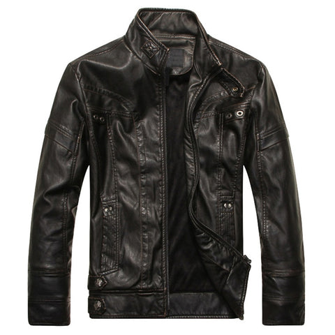 Black Chicago Leather Jacket - Gentlemen's Crate