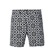Black White Print Shorts - Gentlemen's Crate