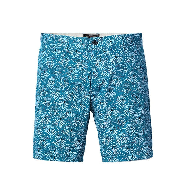 Blue Print Shorts - Gentlemen's Crate