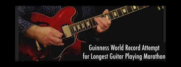 Guinness World Record Attempt for The Longest Guitar Playing Marathon