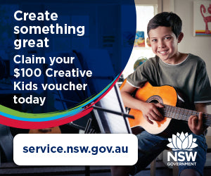Engadine Music is a Creative Kids NSW Registered Provider