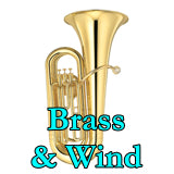 classroom brass and wind instruments