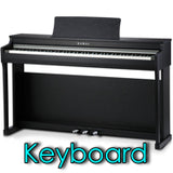 keyboard digital piano casio kawai yamaha roland