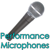 performance microphones