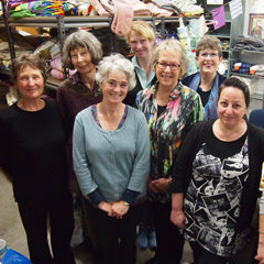 Curtain Bank volunteers