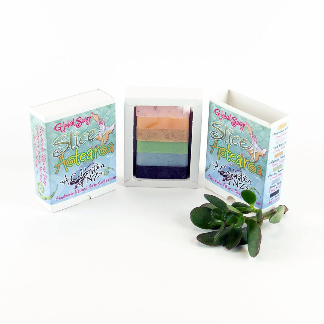Global Soaps Slice of Aotearoa Gift General Global Soaps