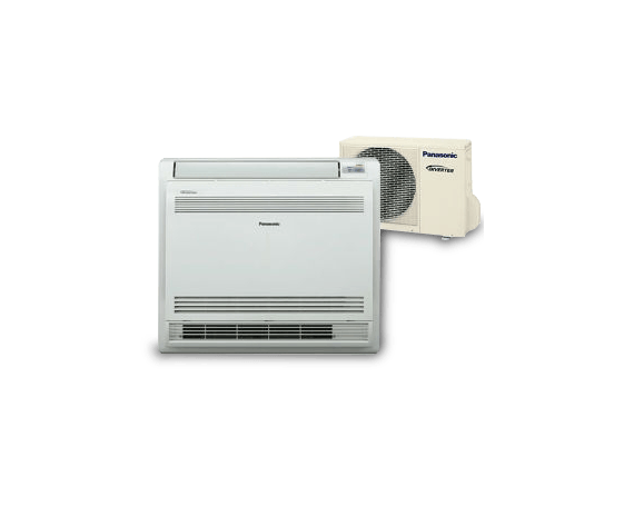 Panasonic Compact Inverter Floor Console Air Conditioner Heat Pump