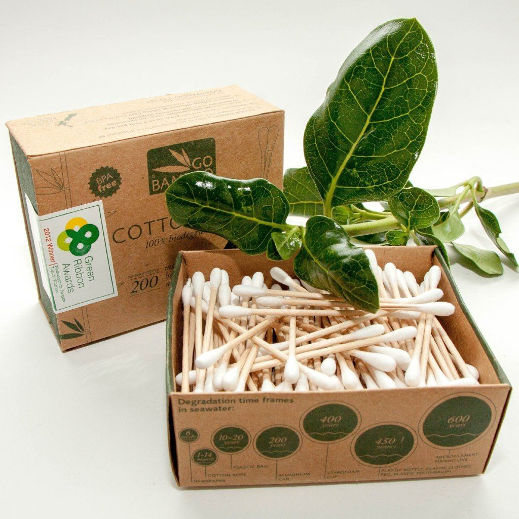 Go Bamboo Cottonbuds General Go Bamboo