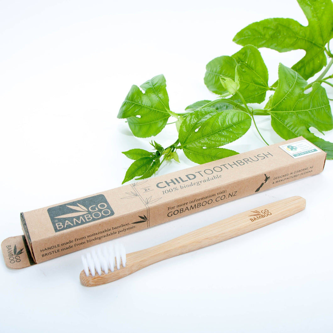 Go Bamboo Toothbrush General Go Bamboo Children