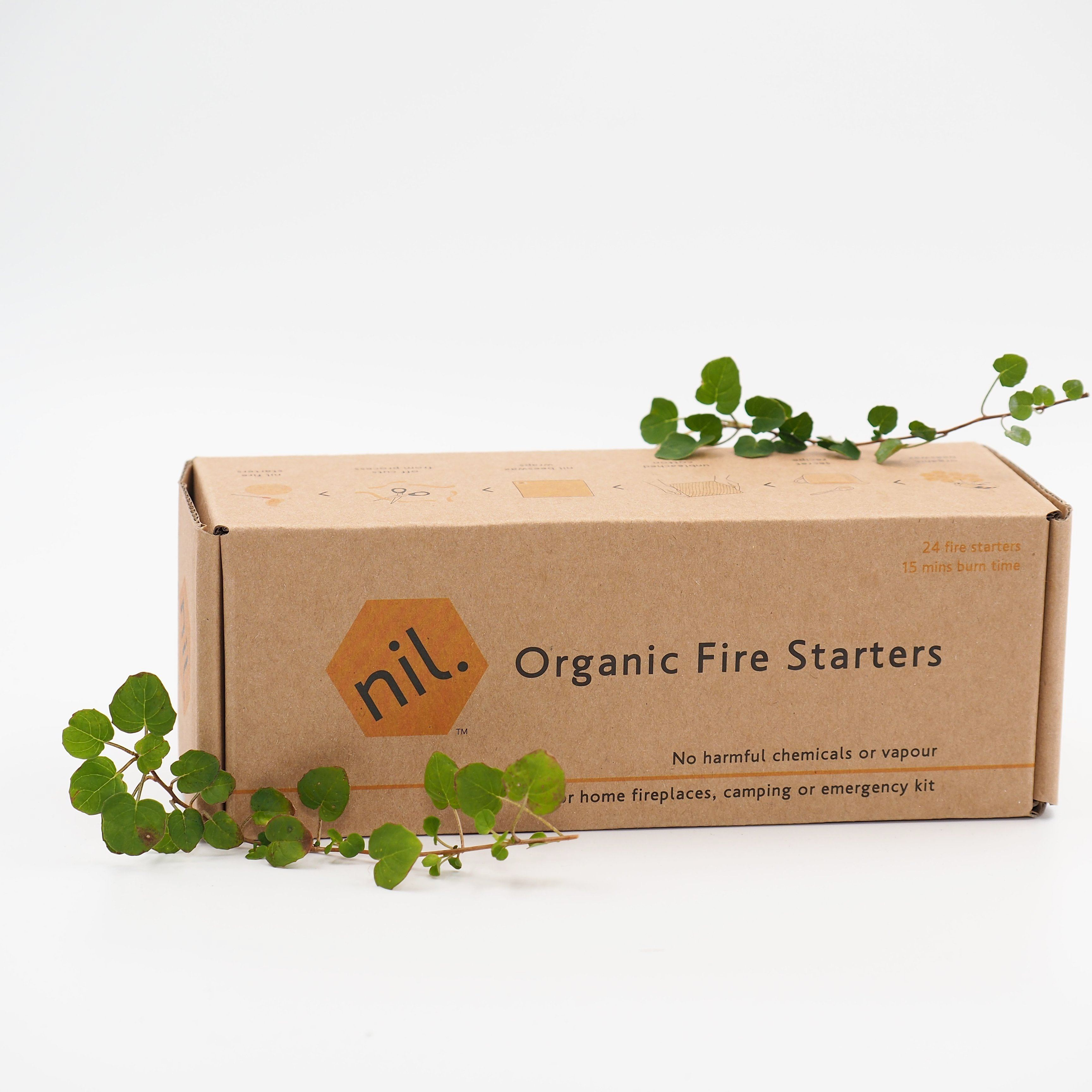 Munch Fire Starters - organic (pack of 24)