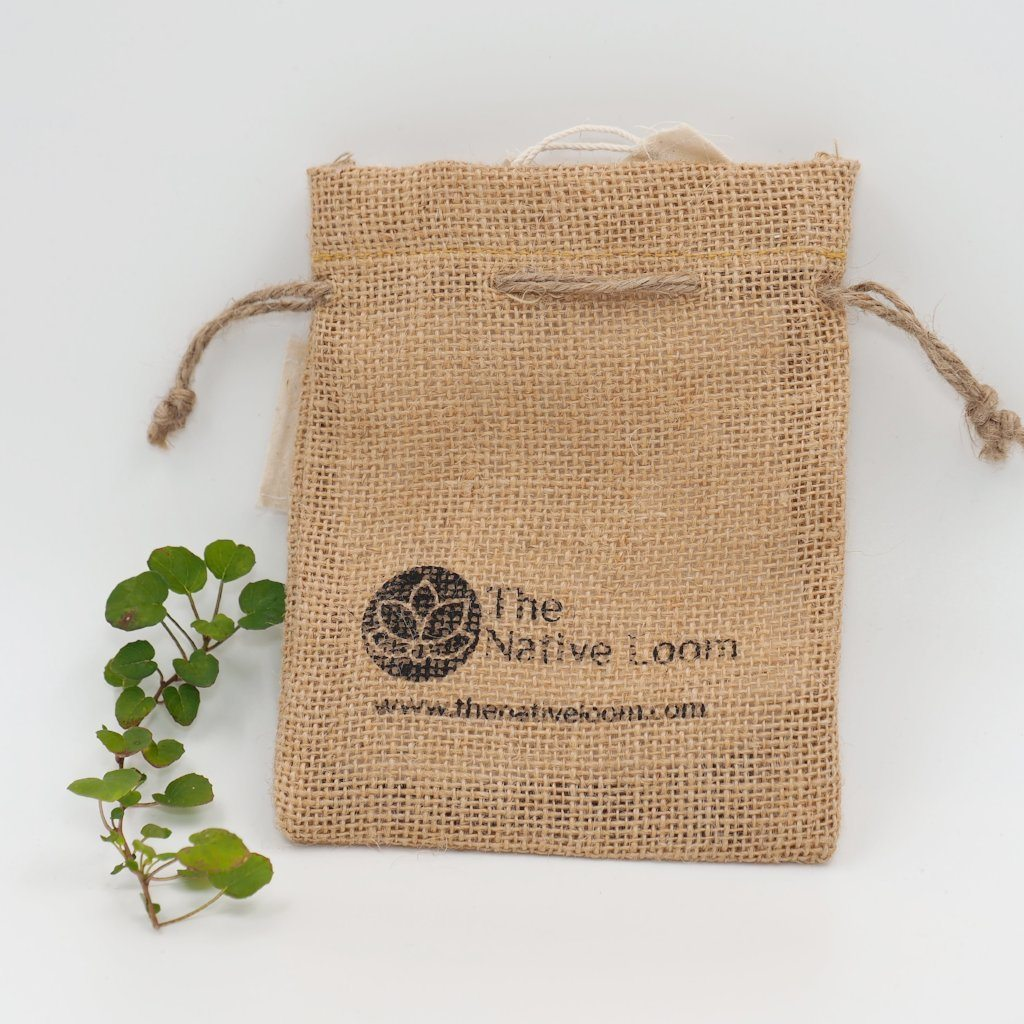 The Native Loom Eco-T kits (4 tea bags in Jute pouch) Green Living The Native Loom