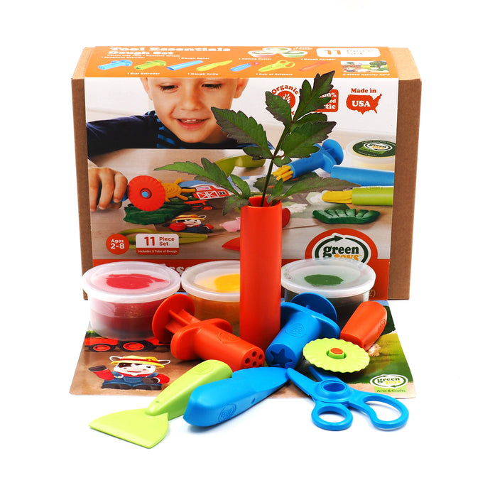Green Toys - Tool Essentials Dough Set General Green Toys