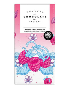 Wellington Chocolate Factory - Raspberry Milk Chocolate bar General Wellington Chocolate Factory