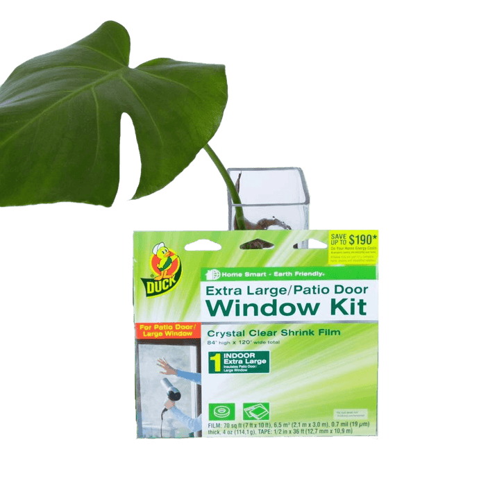 Duck Window Insulation Film Kit General Sustainability Trust