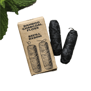 Bamboo Charcoal Vegan Floss Body ECO Warehouse Refill (2 spools)