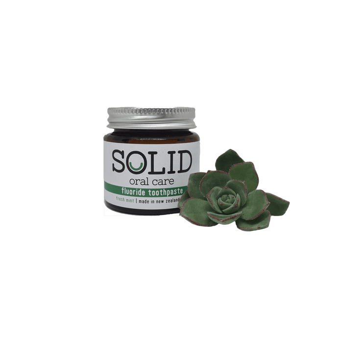 Solid toothpaste General Solid Oral care Fluoride fresh mint 90g