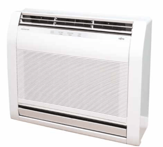 Fujitsu Compact Floor Console Air Conditioner Heat Pump