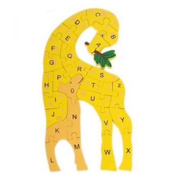 Trade Aid Giraffe Alphabet Puzzle General Trade Aid