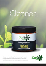 Load image into Gallery viewer, OURECO Bicarb Cleaning Paste (Lemon Myrtle) 550g Green Living SIMPLY S&SLTD (Our Eco Home)