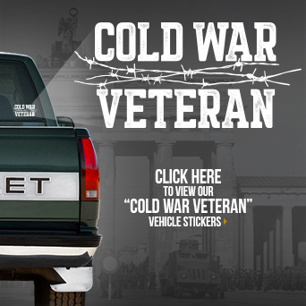 Cold War Veteran Vehicle Sticker