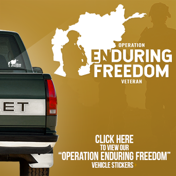 Operation Enduring Freedom Vehicle Sticker
