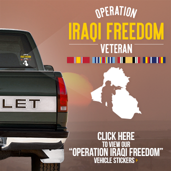 Operation Iraqi Freedom Vehicle Sticker