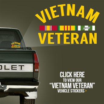 Vietnam Veteran Vehicle Sticker