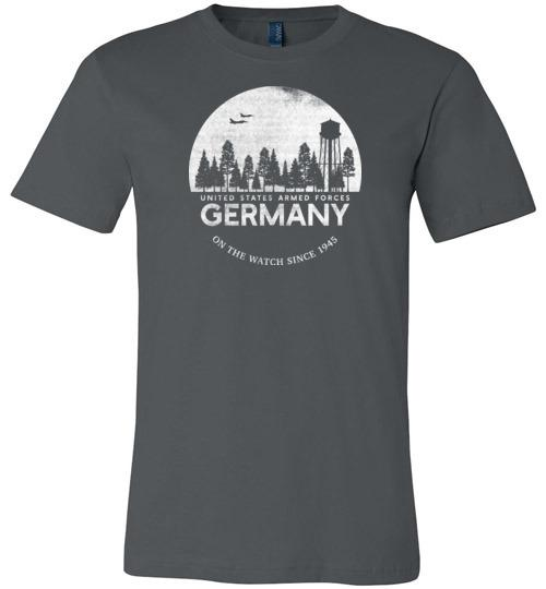 "U.S. Armed Forces Germany ""On The Watch Since 1945"" - Men's/Unisex Lightweight Fitted T-Shirt-Wandering I Store"