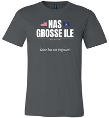 "NAS Grosse Ile ""GBNF"" - Men's/Unisex Lightweight Fitted T-Shirt-Wandering I Store"