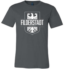 Filderstadt, Germany - Men's/Unisex Lightweight Fitted T-Shirt-Wandering I Store