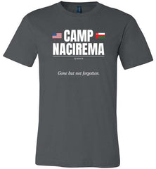 "Camp Nacirema ""GBNF"" - Men's/Unisex Lightweight Fitted T-Shirt-Wandering I Store"