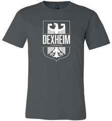 Dexheim, Germany - Men's/Unisex Lightweight Fitted T-Shirt-Wandering I Store