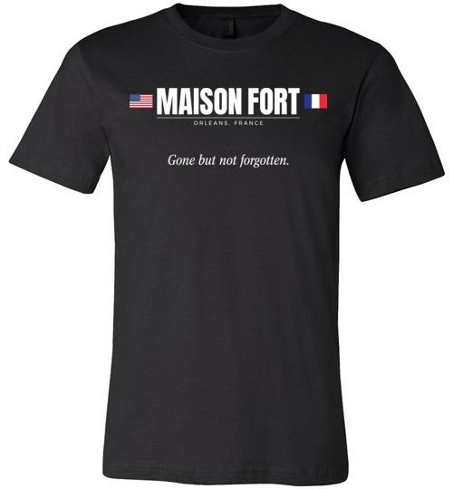 "Maison Fort ""GBNF"" - Men's/Unisex Lightweight Fitted T-Shirt-Wandering I Store"